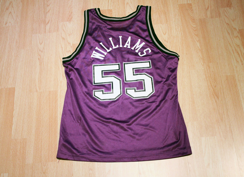 huge selection of 1cbe4 e8844 Jason Williams Kings Jersey from SLAM! Vintage