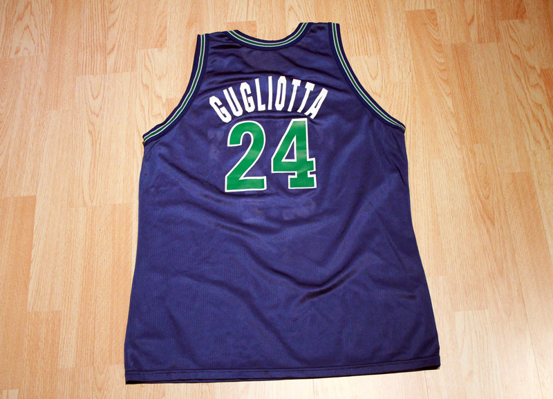 new style cd83a 71a4d Tom Gugliotta Timberwolves Jersey from SLAM! Vintage