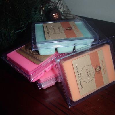Homemade scented tarts (b's)