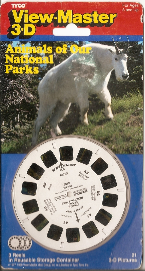 Sealed Animals Of Our National Park Viewmaster 3d On