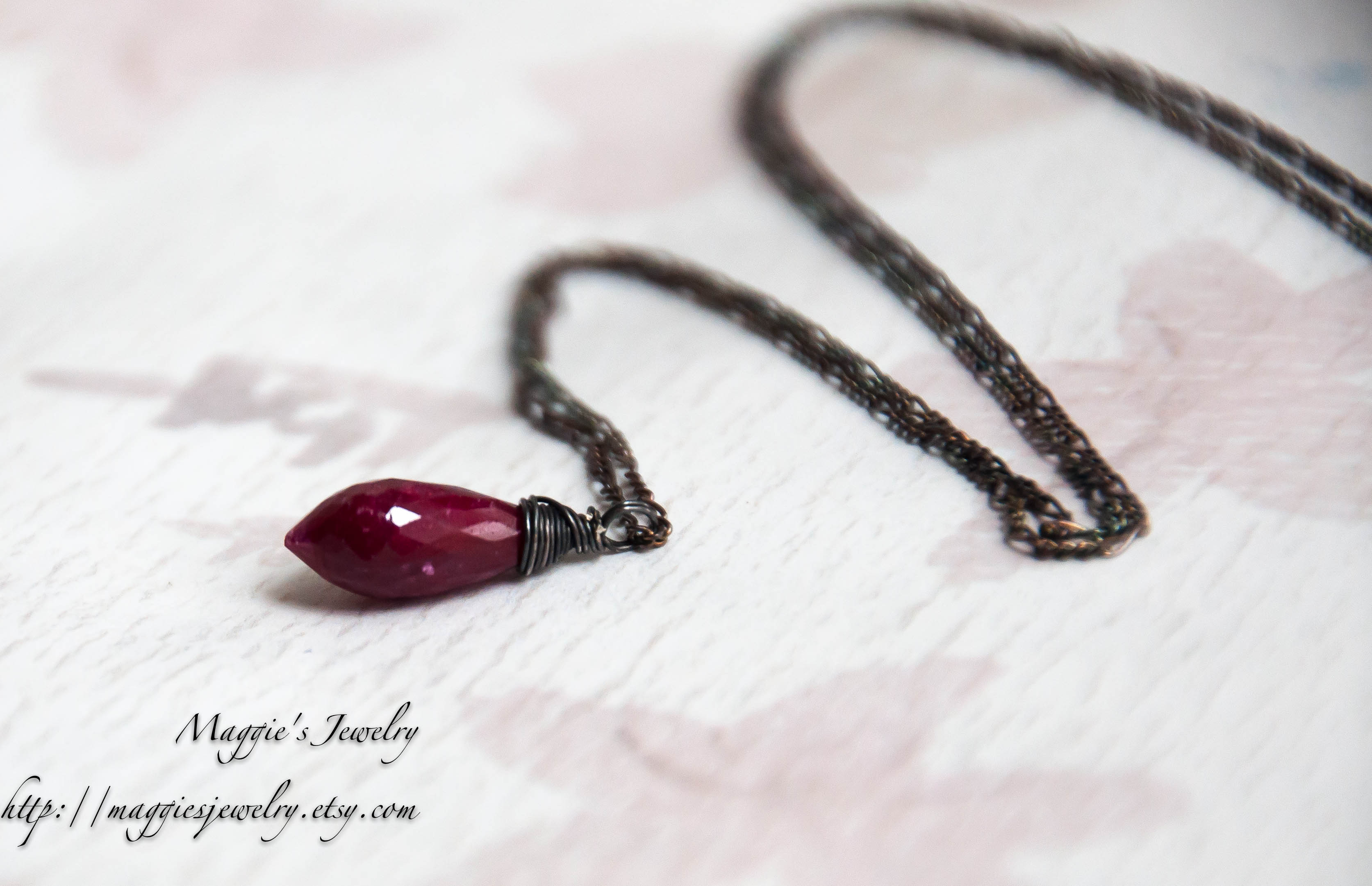 jewellery jewelry limited necklace ruby gold products yg edition