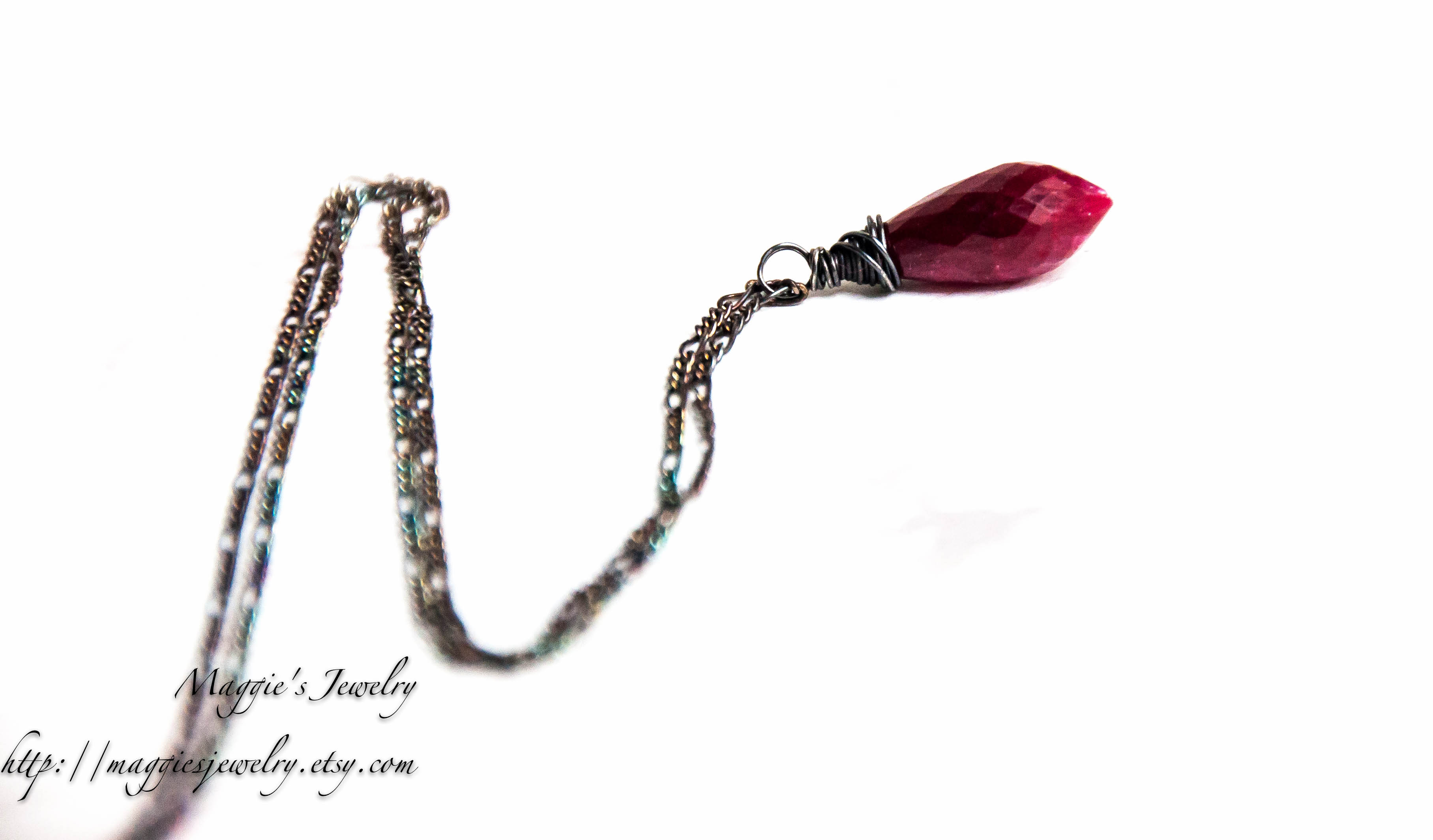 pearl rickis necklace res and crimson long hi circle black rhodium