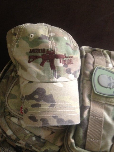 Multicam Rifle Logo Operator Cap from American Infidel