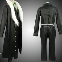 Custom Made One Piece Shichibukai Crocodile Cosplay Costume Outfit Buy!ad