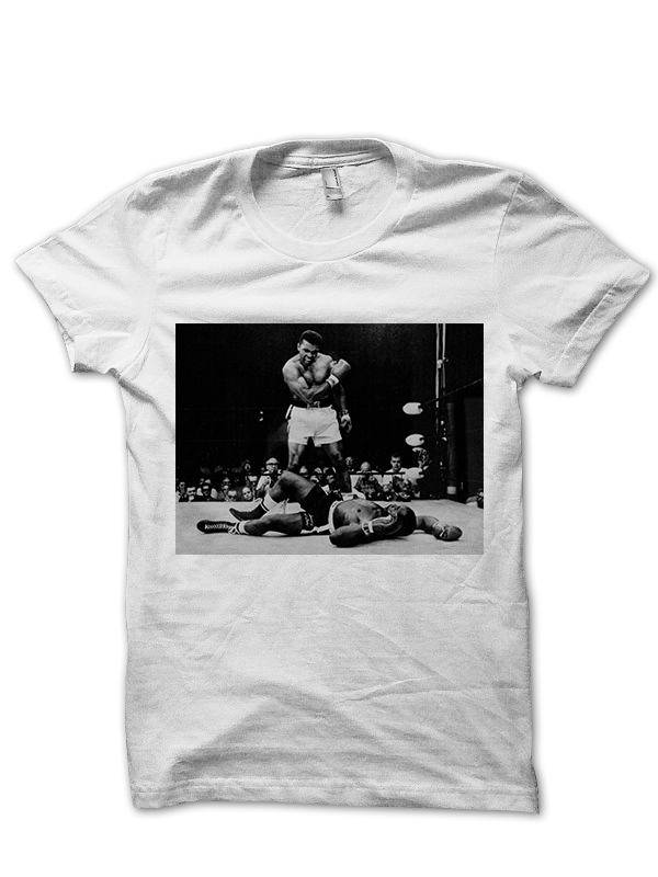 ali t shirt ali vs sonny liston shirt muhammad ali knock. Black Bedroom Furniture Sets. Home Design Ideas