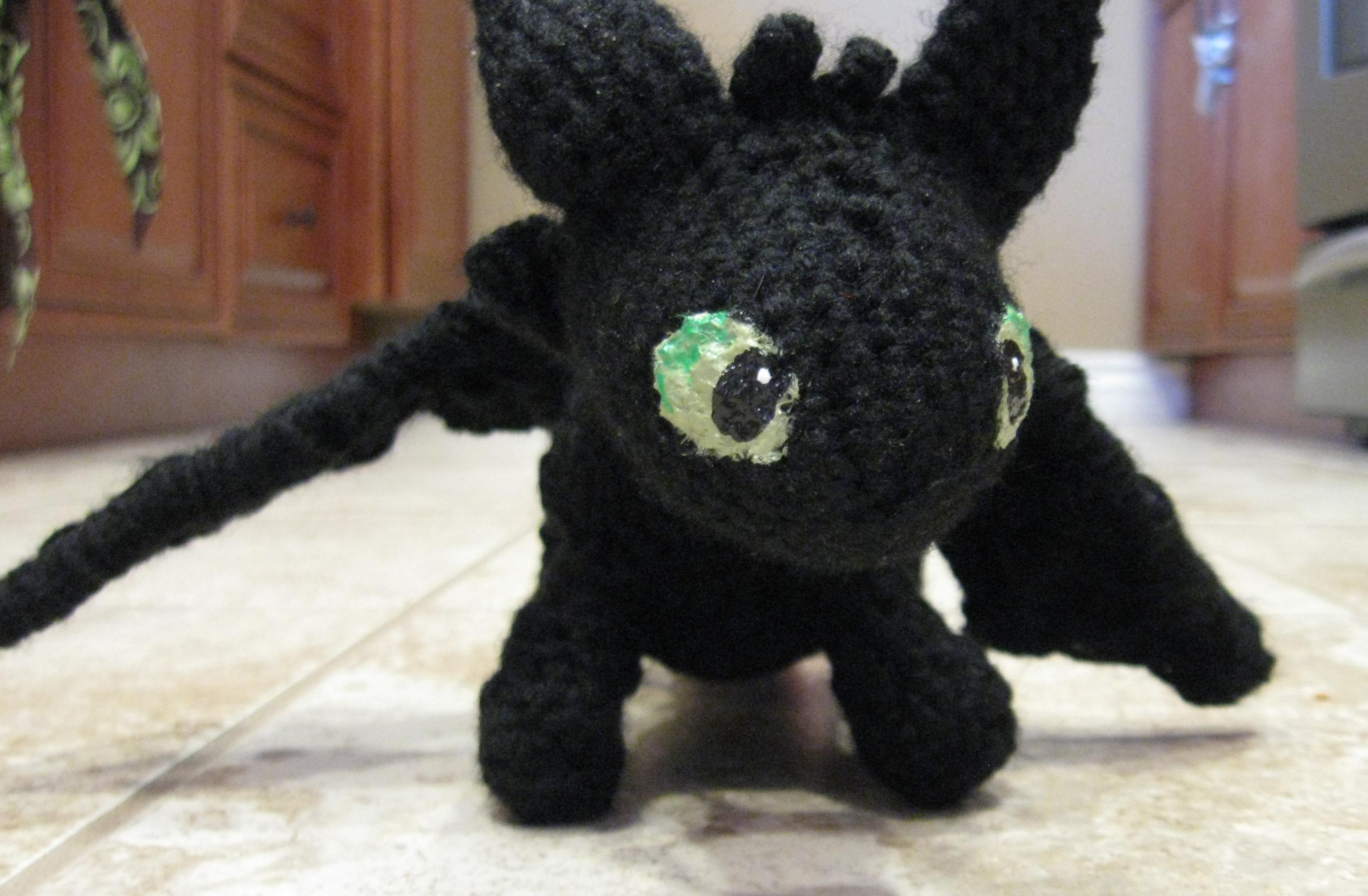 Crochet Toothless Plush on Storenvy