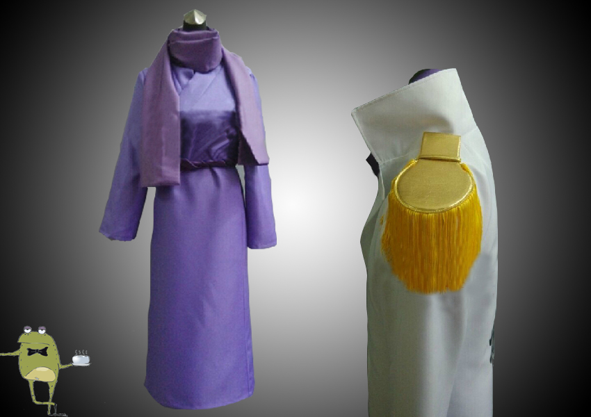 One Piece Admiral Issho Fujitora Cosplay Costume Coat ...