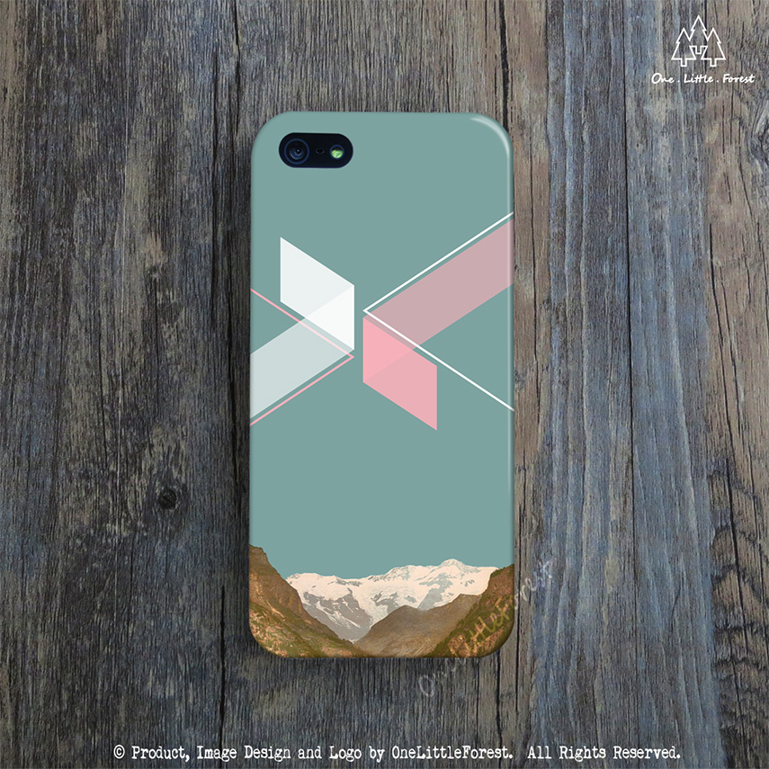 detailed look ded51 1b87f GEOMETRIC iPhone Case, Teal iPhone 4s Case, Retro iPhone 5 Case, Modern Art  iPhone 5c Cover, Mountain iPhone 4 Case, Turquoise iPhone 5s from ...