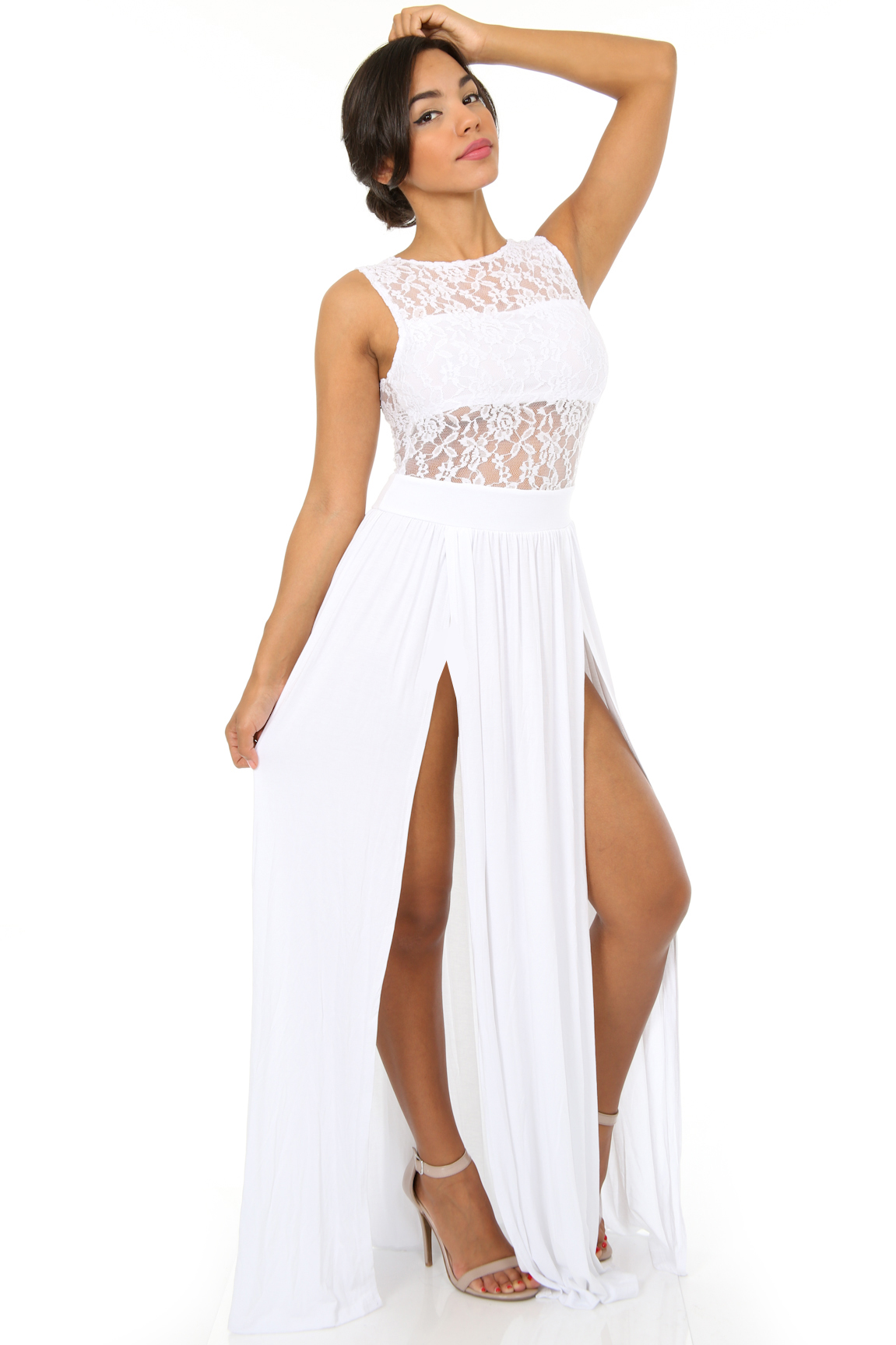White clothing store