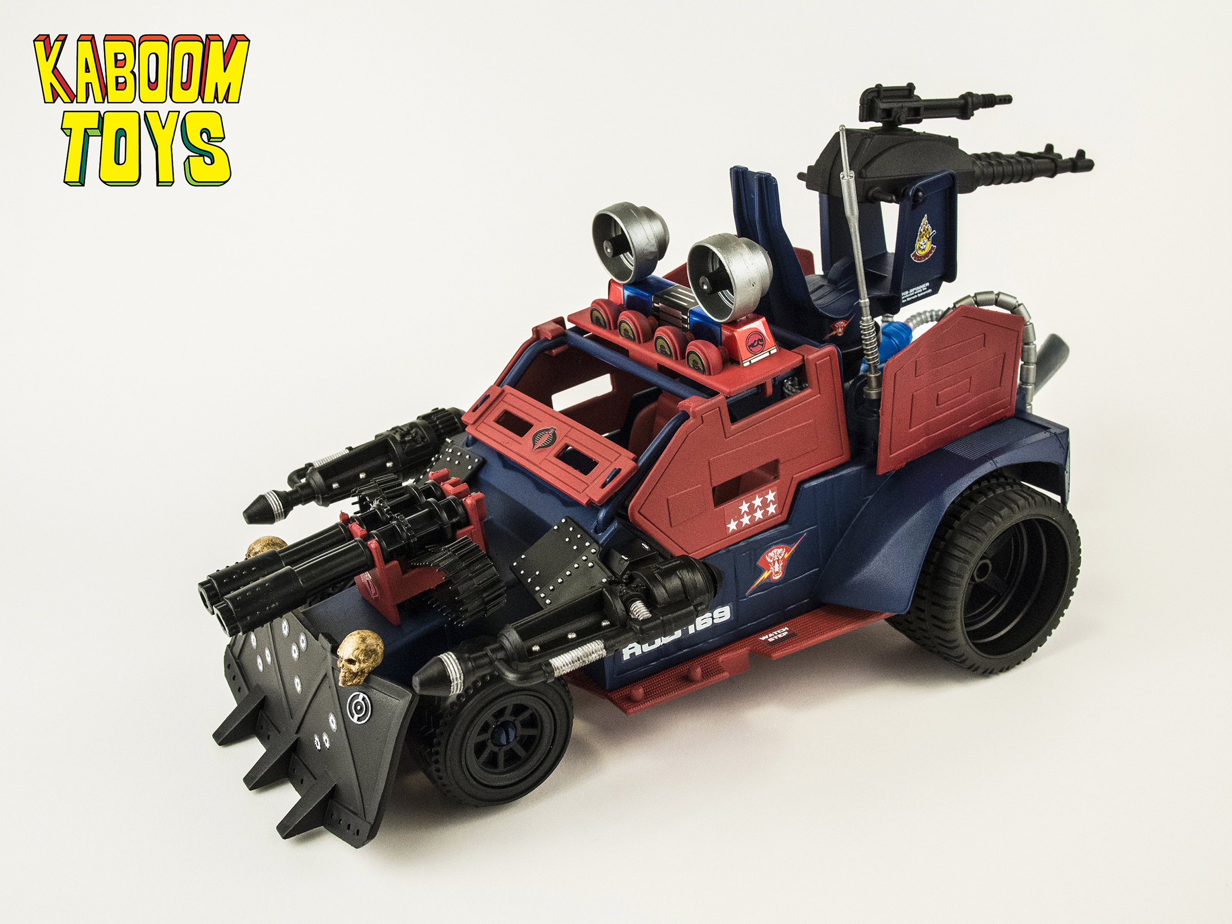 G I Joe Custom Cobra Dreadnok Quot Thunder Machine Quot On Storenvy