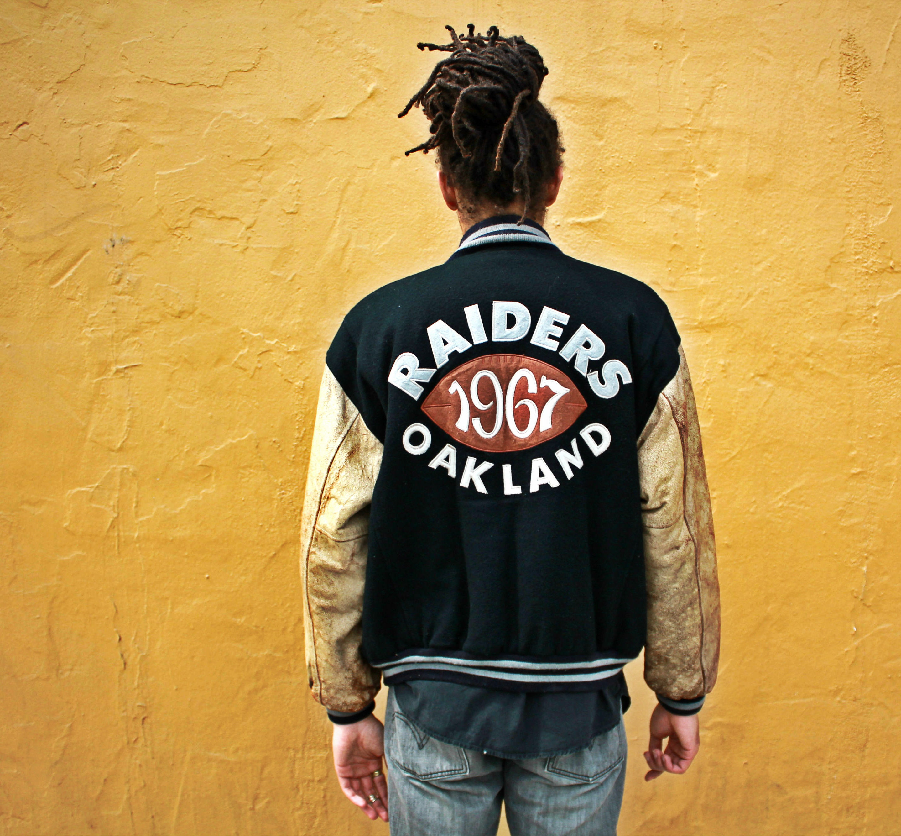 Vintage 1967 Oakland Raiders Letterman Jacket on Storenvy