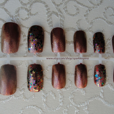 Fall Nail Art Sparkle Spino Online Store Powered By Storenvy