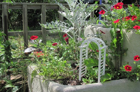 Miniature Garden Arbor Kit For Dollhouse Landscape Or