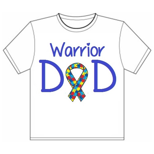 2c57fde28 Autism Warrior Dad Shirt · Inspired By Myah · Online Store Powered ...