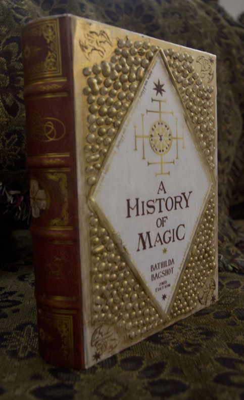 Wizard Magic History Book On Storenvy