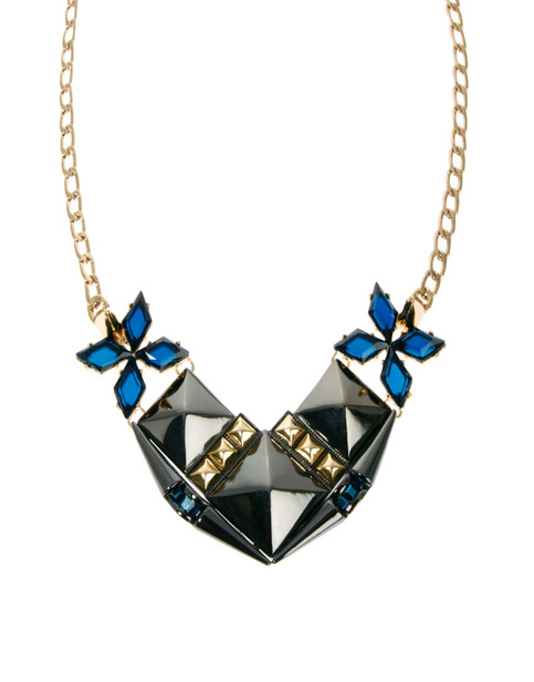 selected ASOS Midnight Stud Necklace