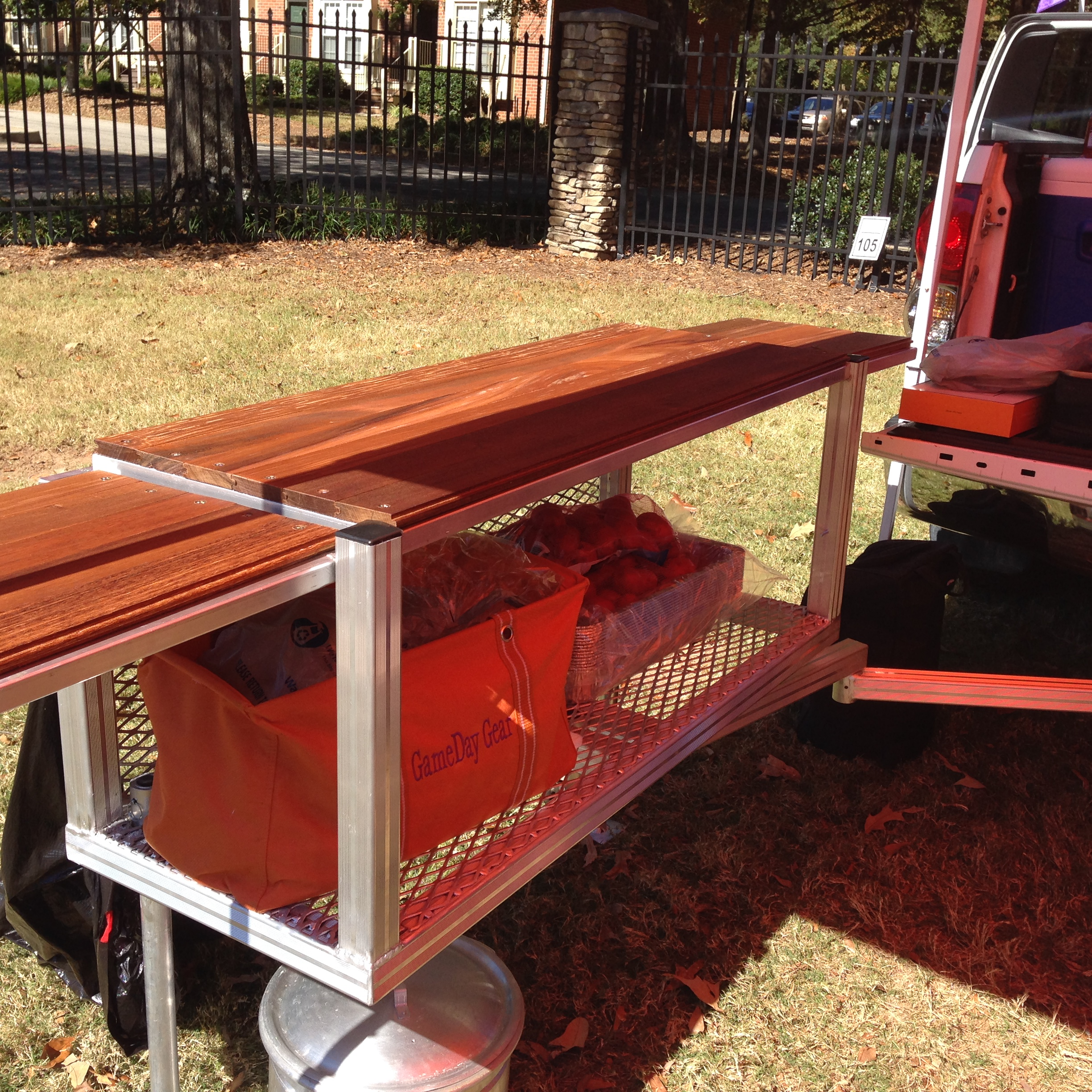 Cargo Brand Furniture: Cargo Carrier/Table On Storenvy