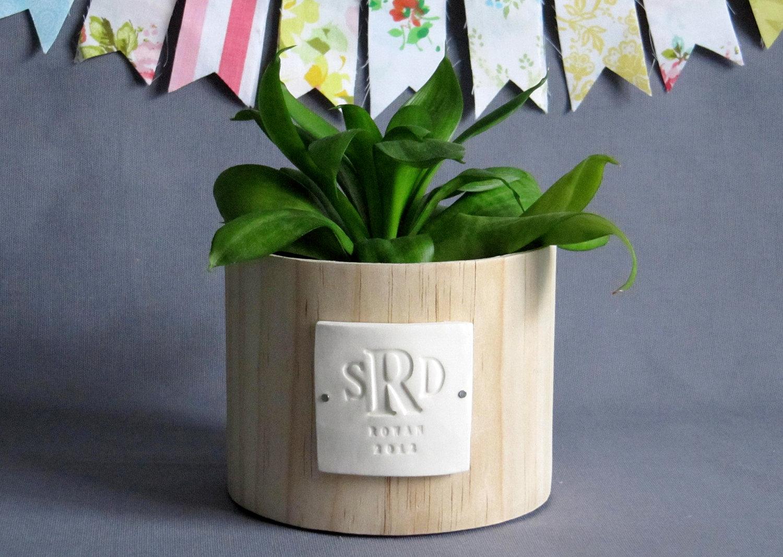 Monogrammed Wedding Gift: PERSONALIZED Wedding Gift - Monogrammed Wood