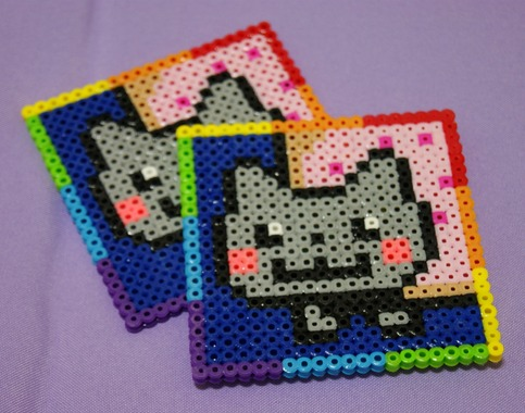 Nyan Cat Coaster Set On Storenvy