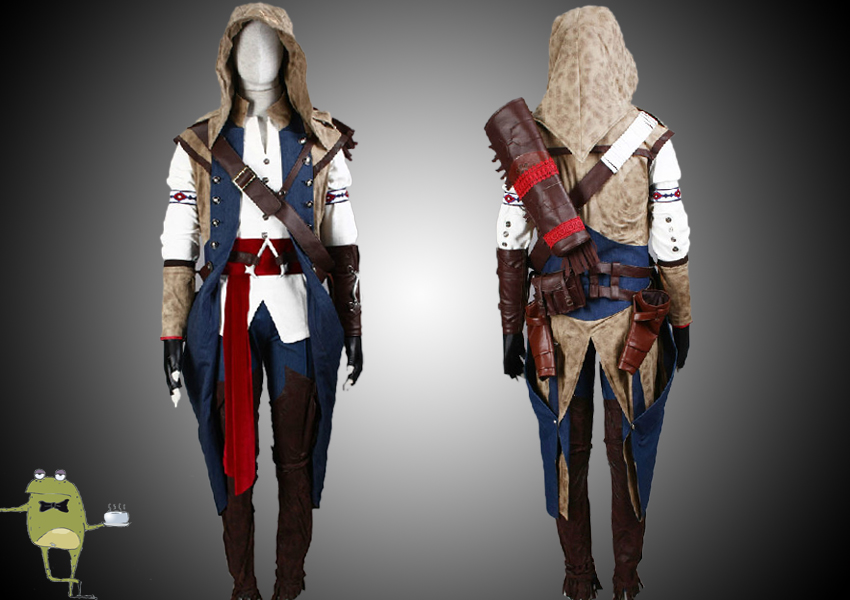 Assassin S Creed Connor Kenway Cosplay Costume For Sale