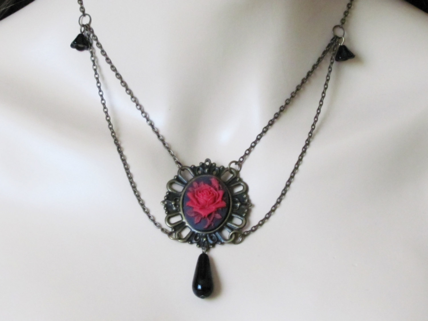 victorian tutorial cover adams necklace jewelry heart product pendant handcrafted