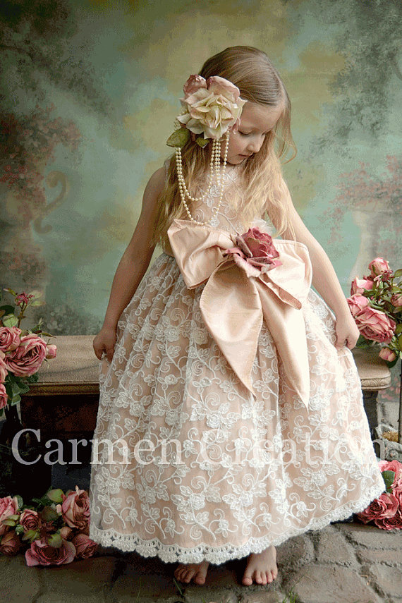 34e8a13257 Venetian Flower Girl Dress · Carmen Creation · Online Store Powered ...