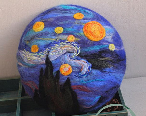 Fine Art Collection Made By Order Van Gogh Starry Night
