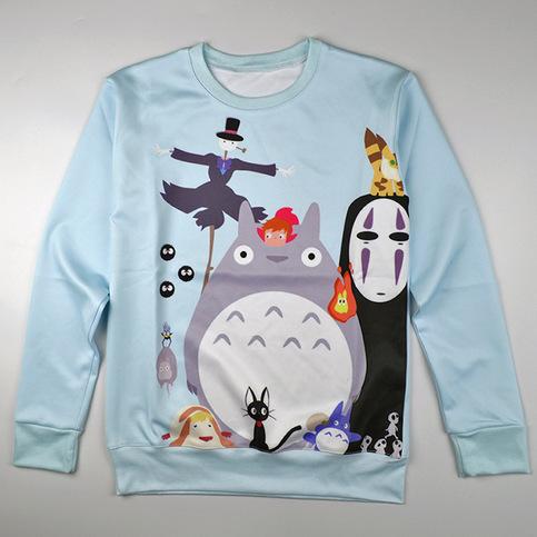 Sudadera Totoro Sweatshirt WH287 on Storenvy