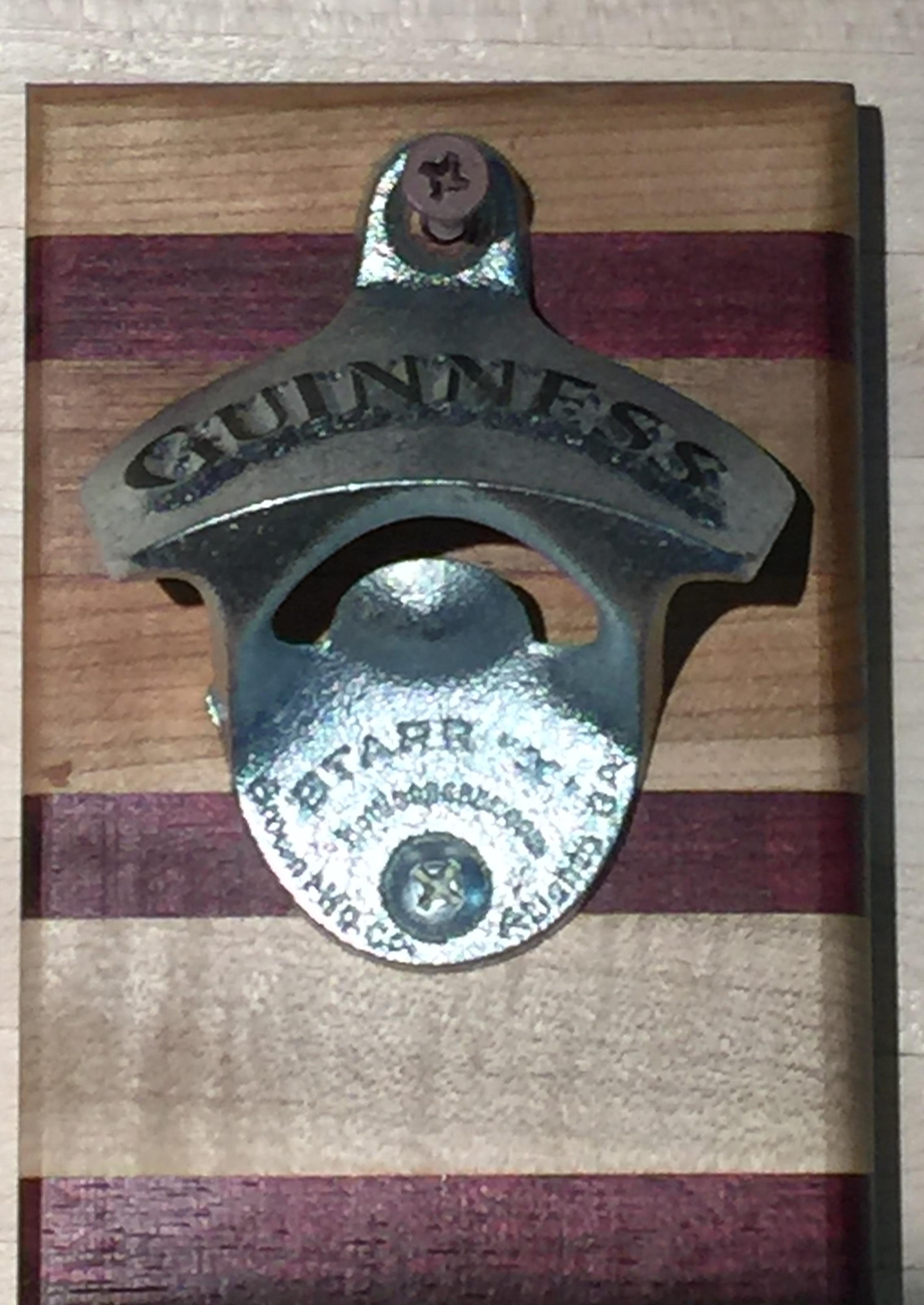 Wall Mounted Bottle Opener Guinness 183 Mac Cutting Boards