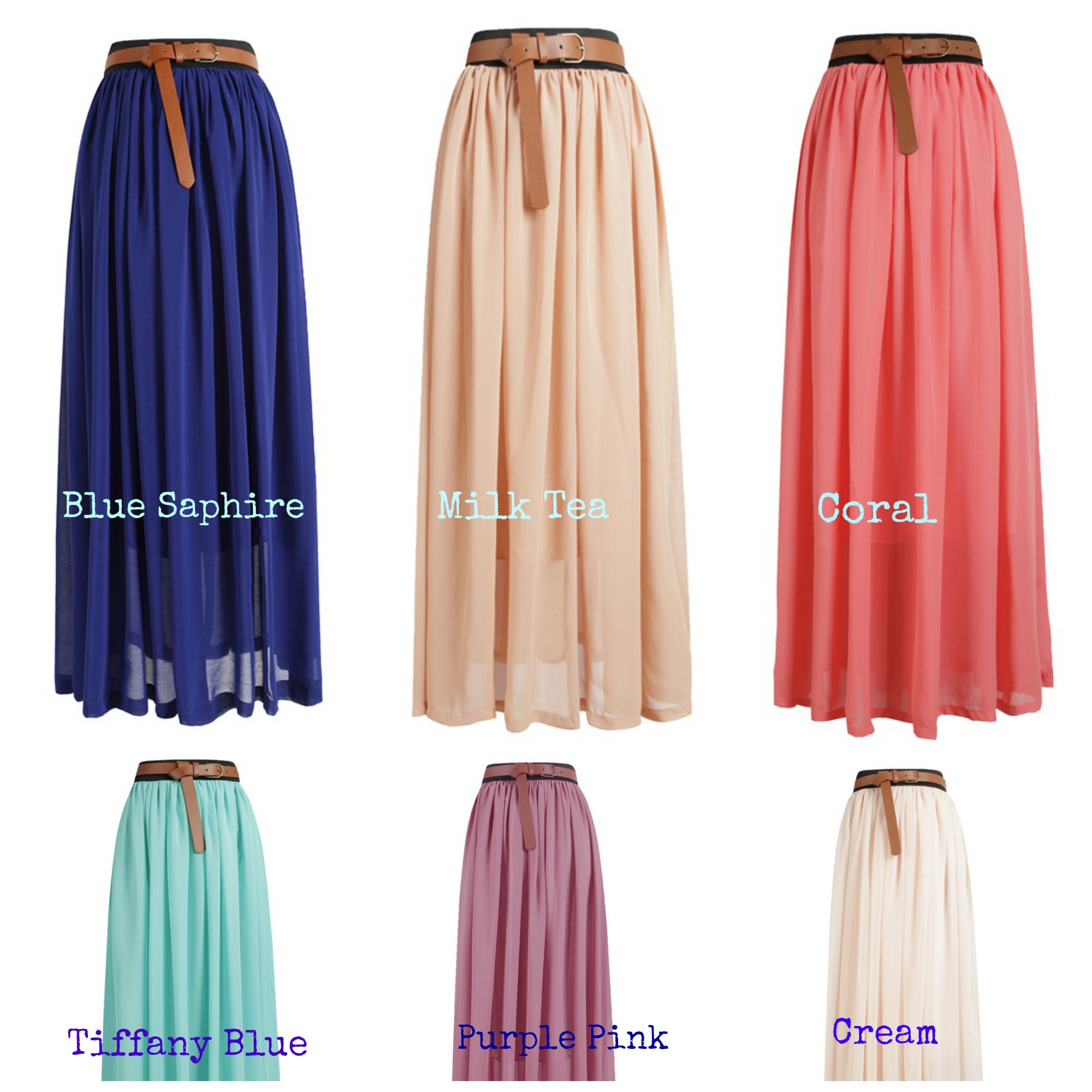 Women's pleated maxi skirt – Modern skirts blog for you