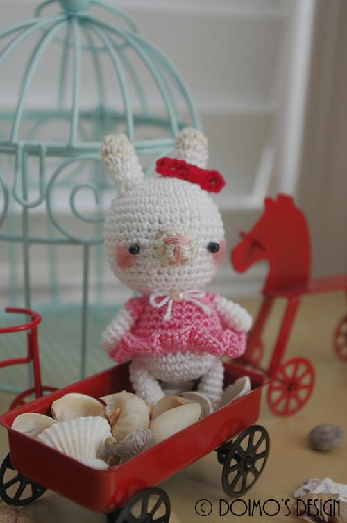 Pretty In Pink Bunny Dress - CrochetObjet   753x500