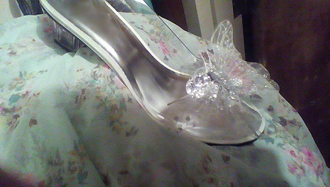 Wearable Adult Size Cinderella S Glass Slippers Silver Butterfly On Storenvy