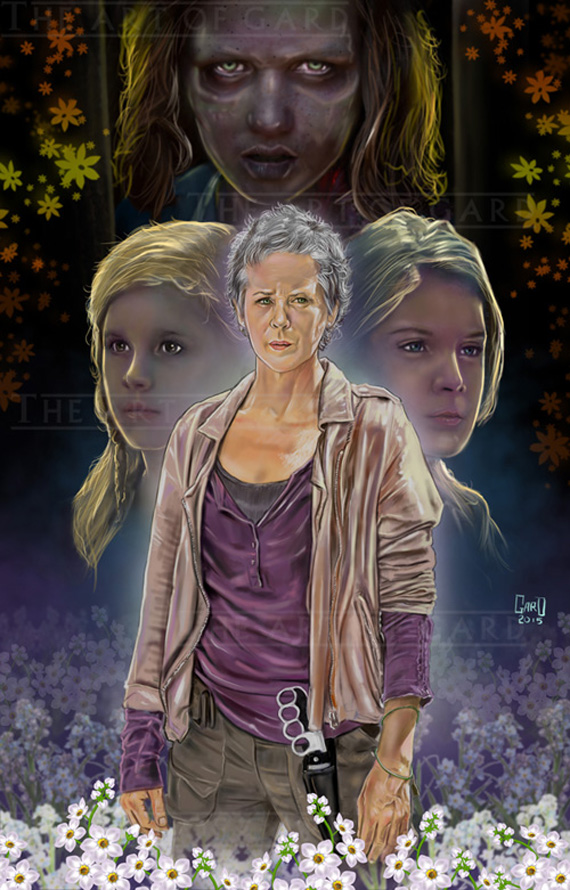 The Flowers Carol The Walking Dead The Art Of Gard Online
