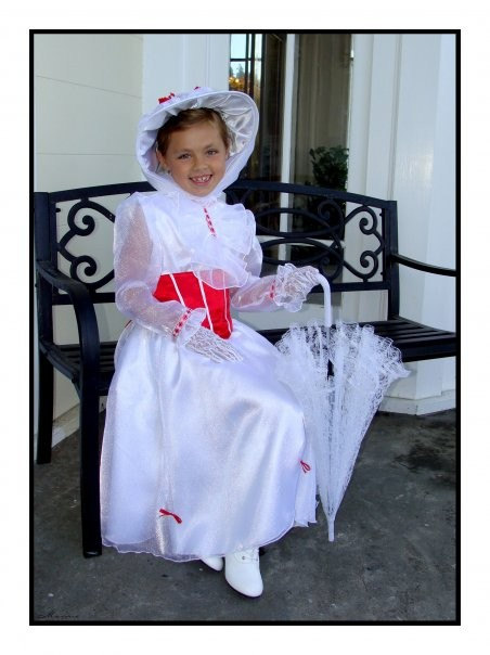 a349109ed64 Custom Boutique Christmas MARY POPPINS Jolly Holiday Girl Size ...