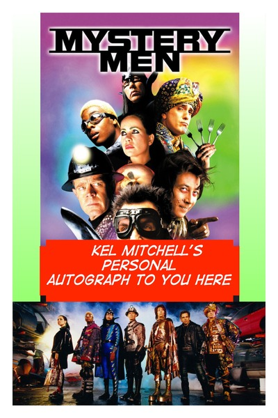 Kel Mitchell Mystery Man Autographed Poster