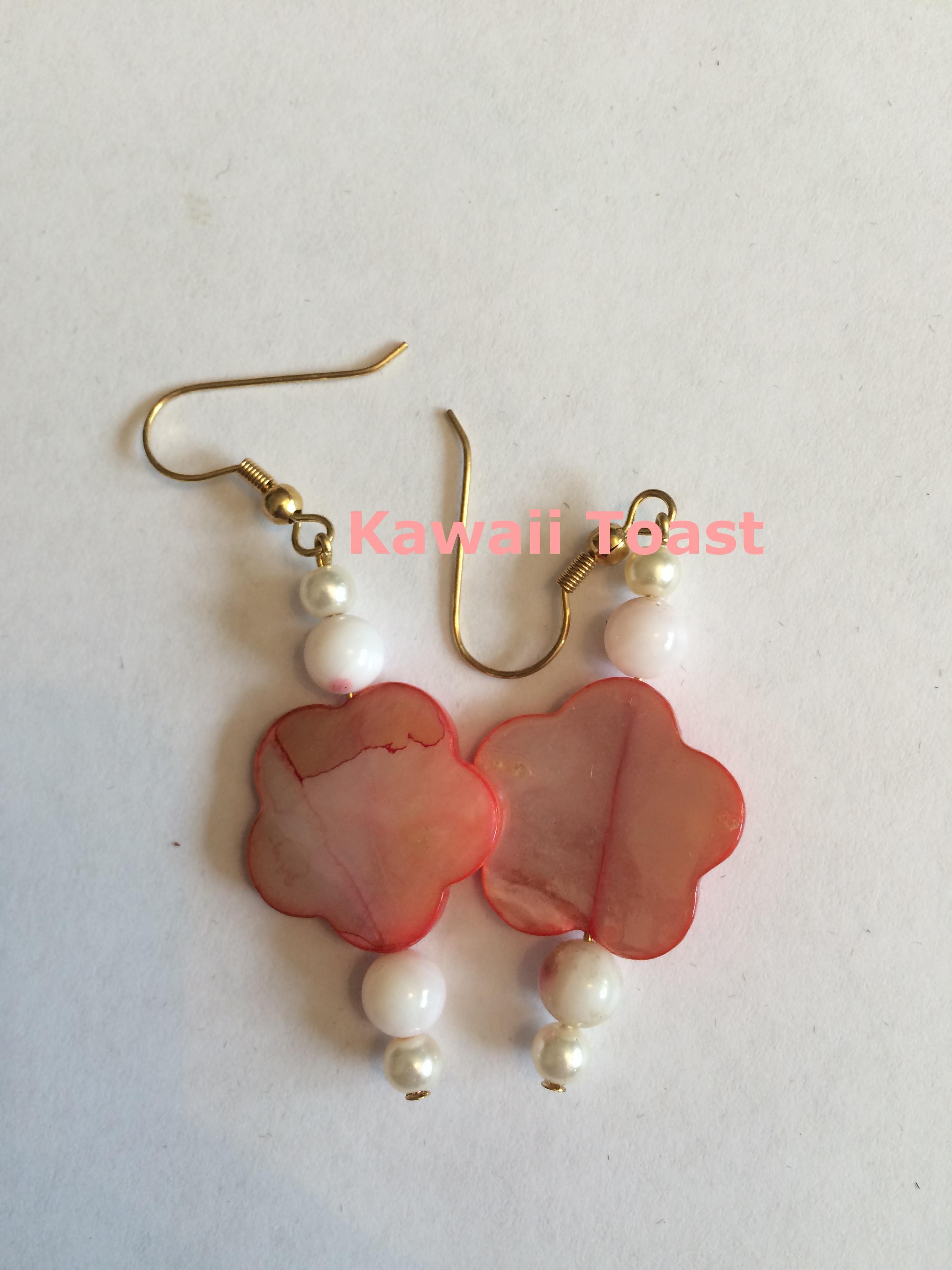 Hawaiian Flower Earrings On Storenvy