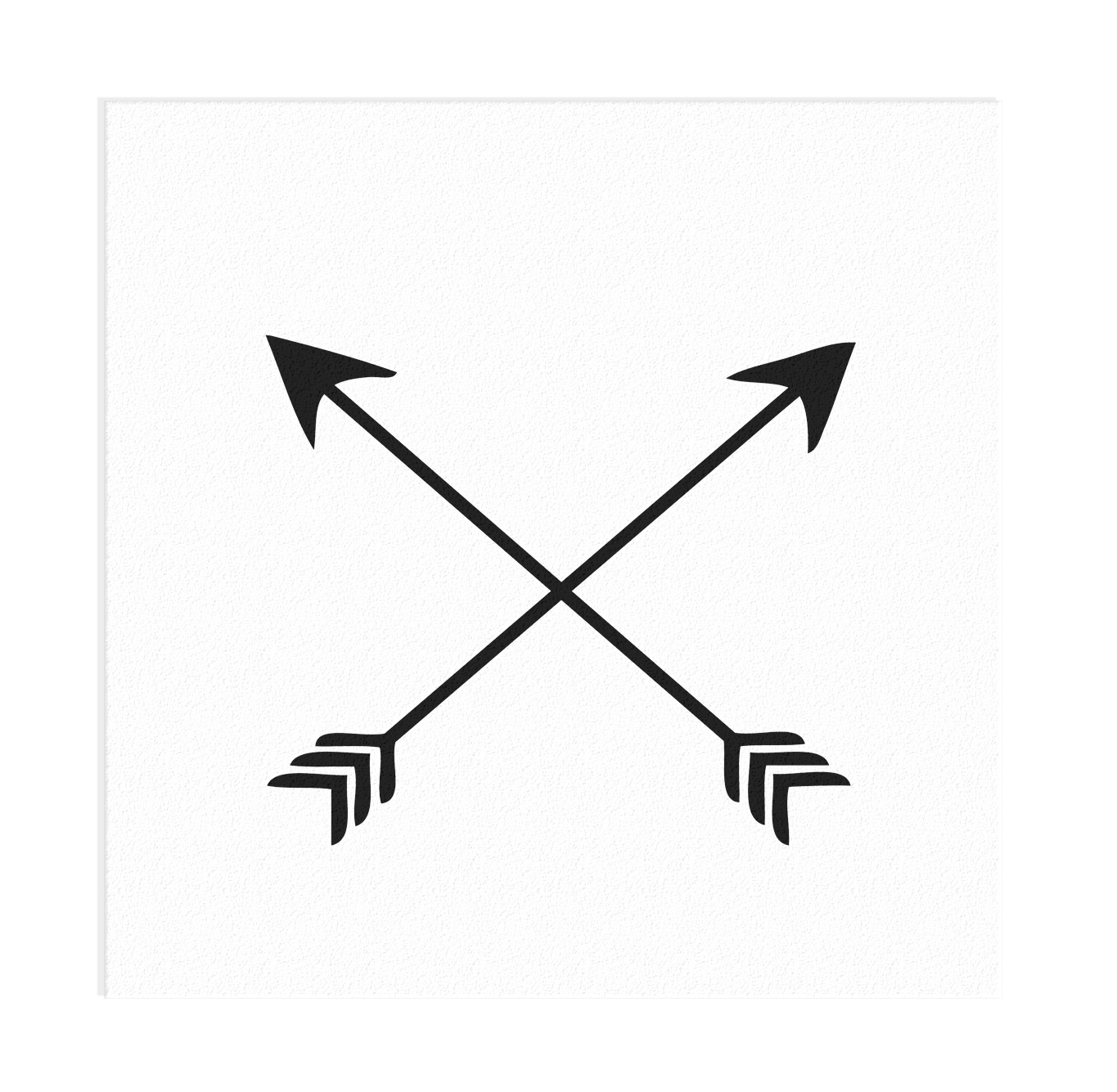 Well-known Crossed Arrows Vinyl Decal · Vicious Vinyl · Online Store Powered  DS65
