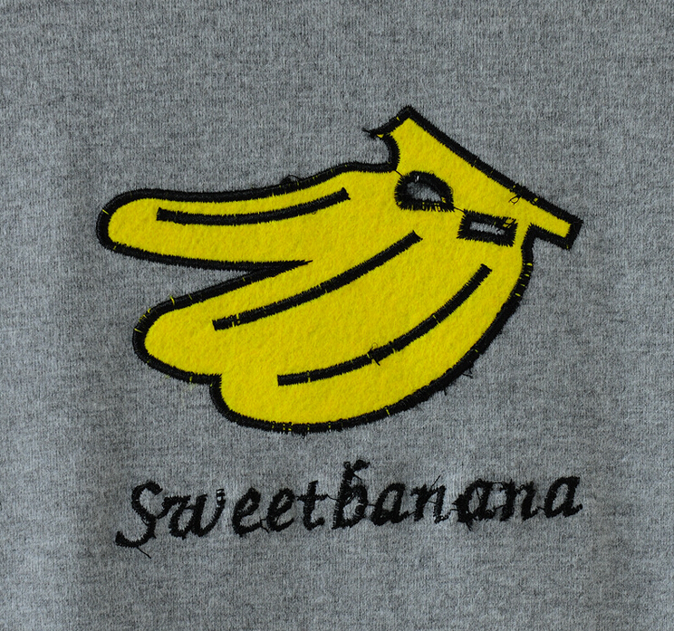 d779a56e ... Sweet banana Short-Sleeved T-shirt Four Colors - Thumbnail 3 ...