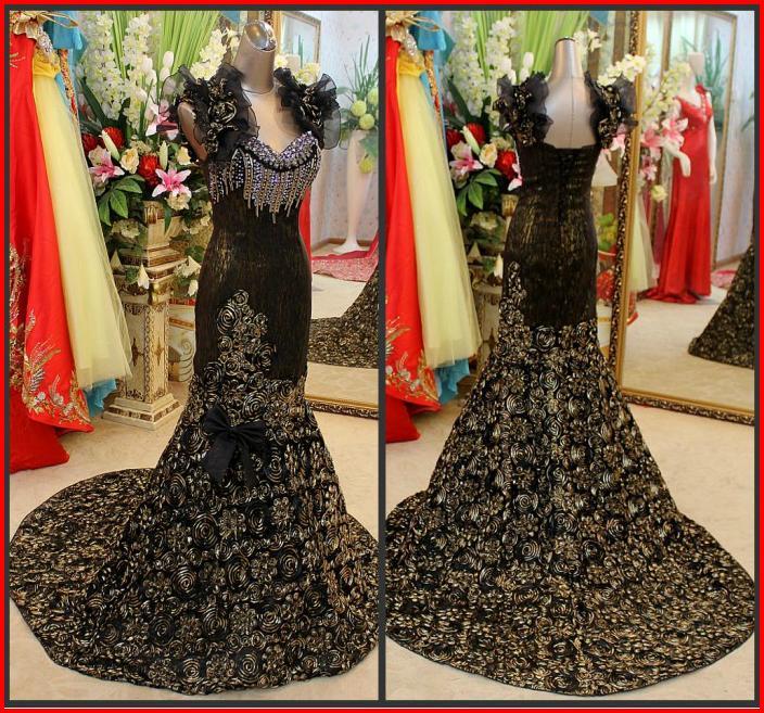 Wedding Gowns With Swarovski Crystals