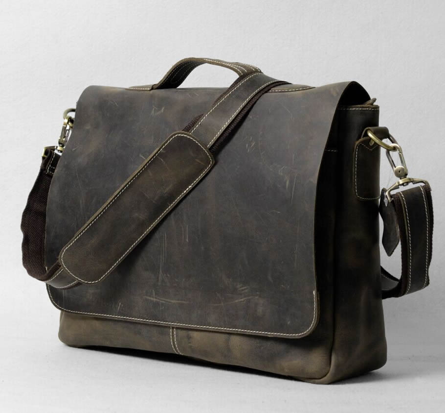 Vintage Messenger Bag Leather 120
