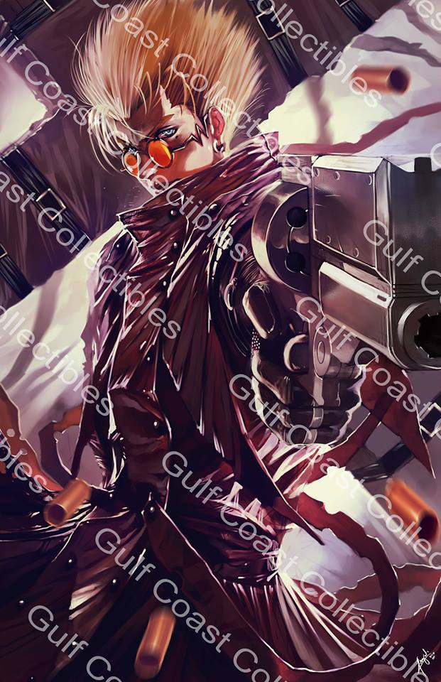 Exclusive Trigun Vash The Stampede Commissioned Art 11 X 17 Print