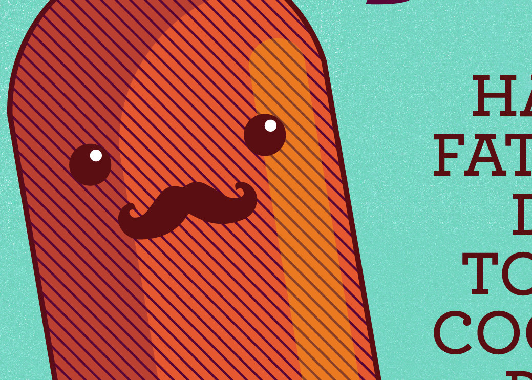 Funny Father S Day Card Happy Father S Day To The Coolest Pop Pun Card For Dad Mustache Dad