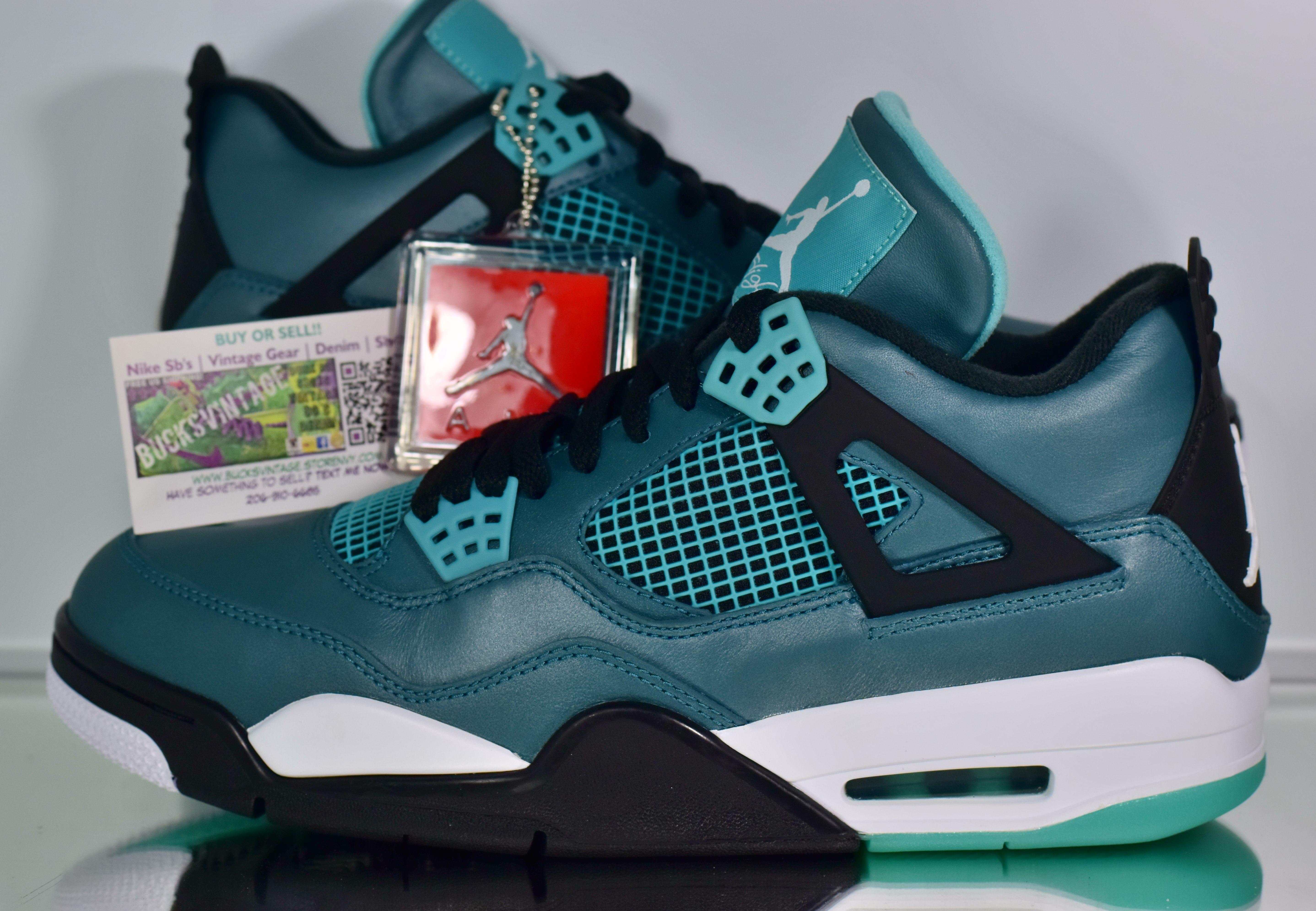 separation shoes 1d312 54673 Nike 20air 20jordan 20iv 20teal original