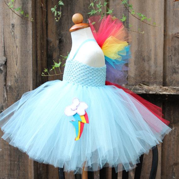 Rainbow Dash Dress - Custom Made My Little Pony Dress on Storenvy