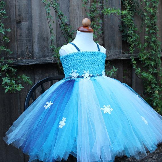 Elsa sml2 original & Frozen dress - Disney Elsa Dress - Elsa Dress-designer halloween ...