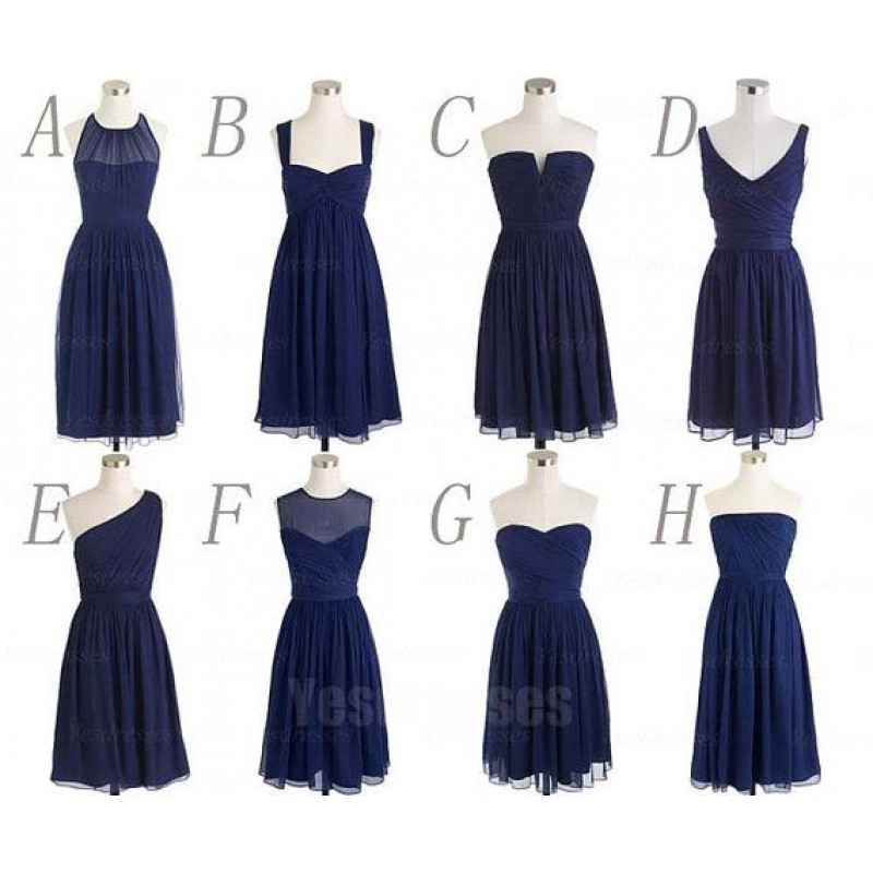 e9c9daa6244 navy blue bridesmaid dresses