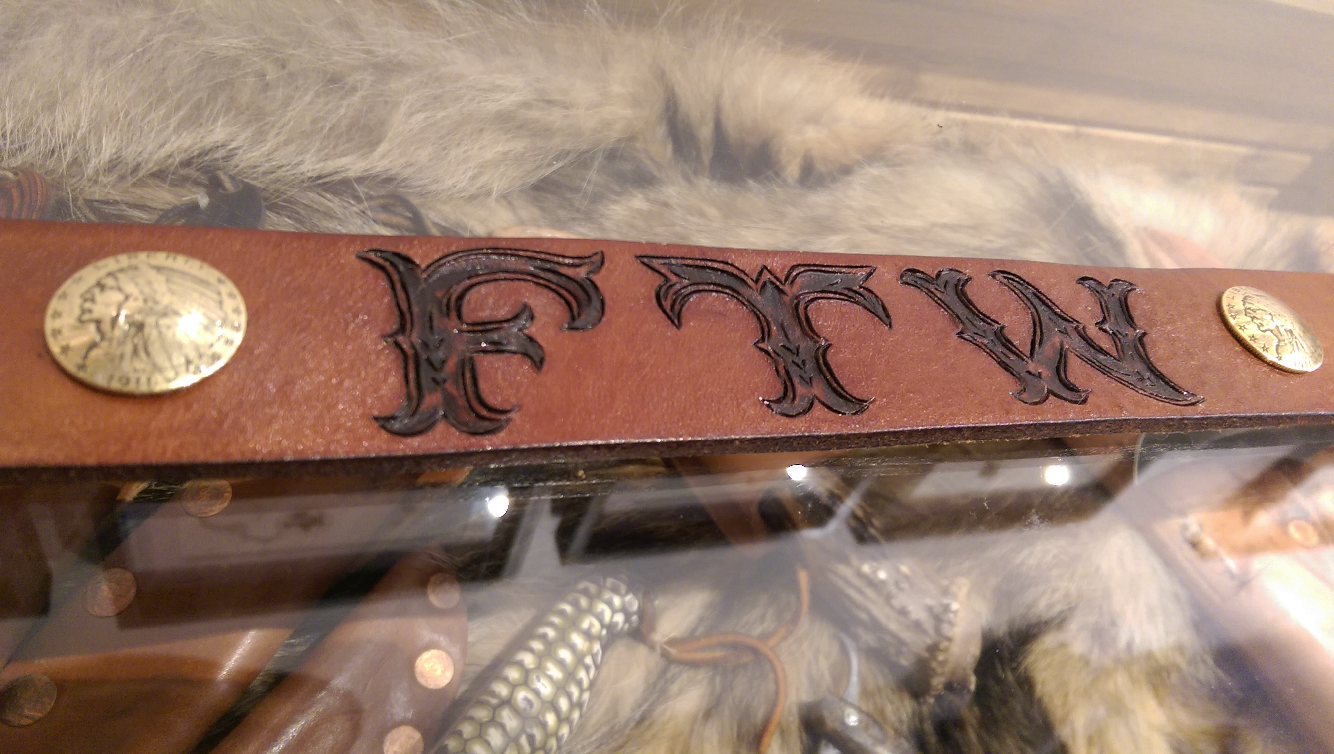 FTW Hand Engraved Belt from BurnMethod