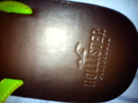 e1268eab2 Hollister by Abercrombie Fitch Women Leather Flip Flop Green M 8 9 ·  OrchidsLittleSecretBoutique · Online Store Powered by Storenvy