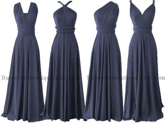 Lady Angel Free Shipping Short Beige Chiffon Bridesmaid: Convertible Bridesmaid Dresses, Navy Bridesmaid Dresses
