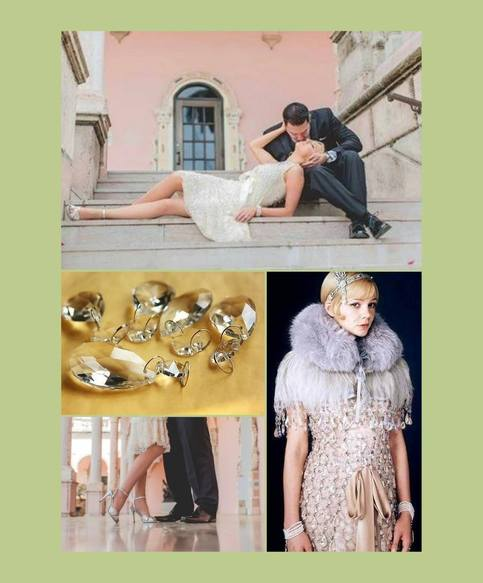 Full Set Great Gatsby Full Costume Daisy Buchanan S